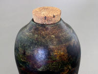 Walnut wood hollow form and burial urn