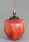 Wood turned urns and hollow forms